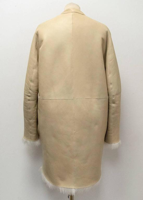 The Row Lambskin Coat 3
