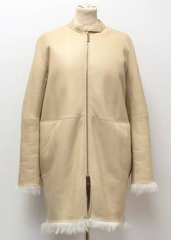 The Row Lambskin Coat 8