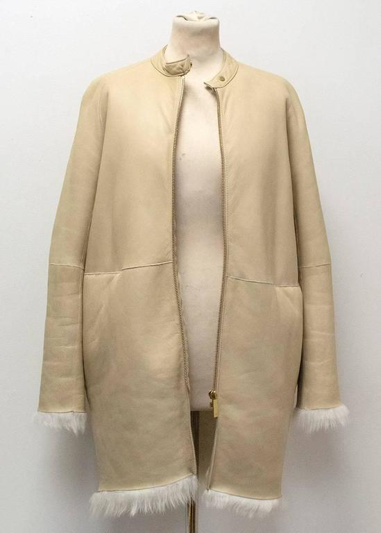 The Row Lambskin Coat 4