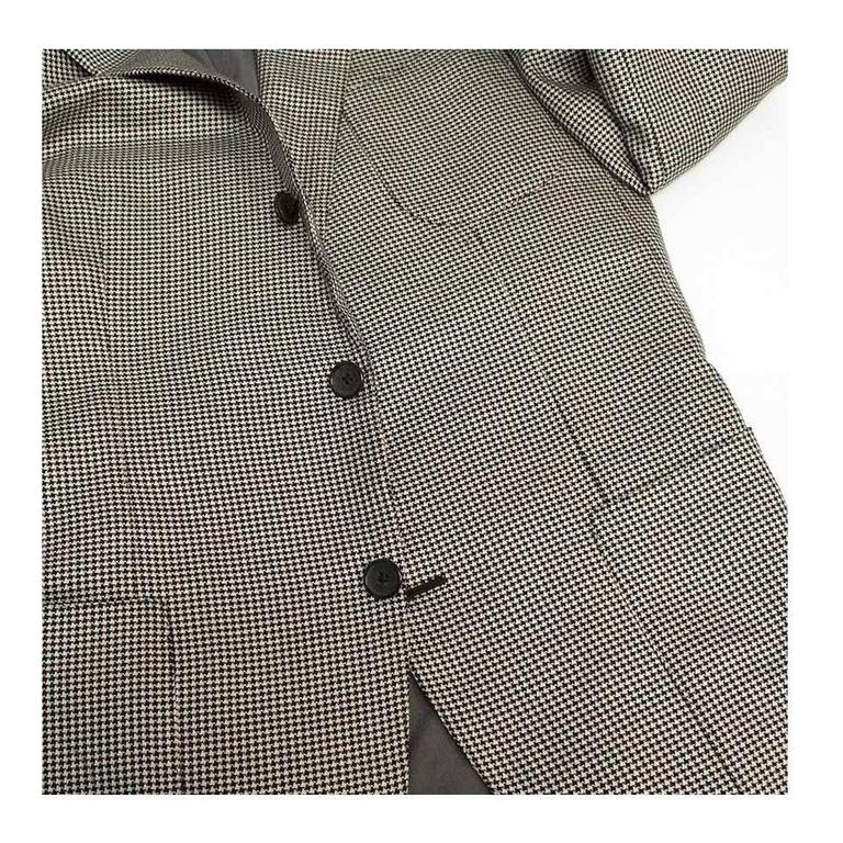 Tom Ford Black and White Dog Tooth Check Blazer 6
