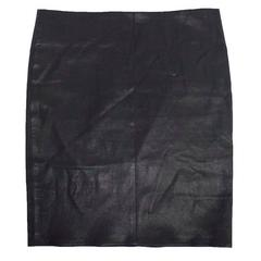 Jitrois Purple Mini Leather Skirt