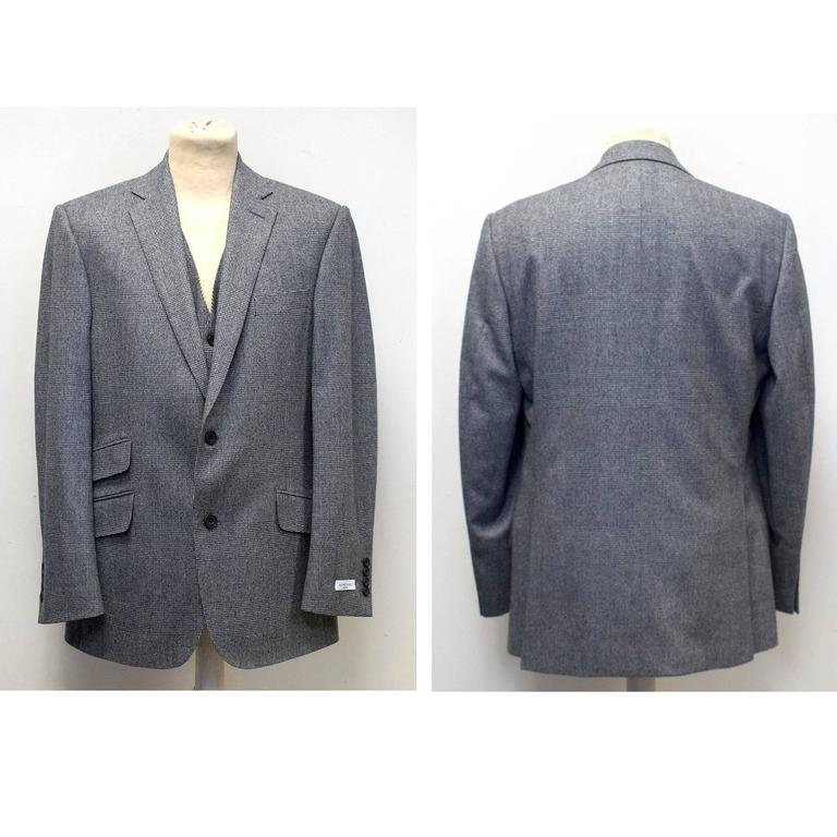 Richard James Grey Checked Three Piece Suit 2
