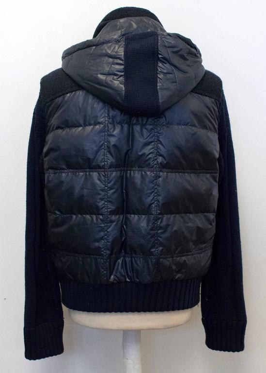 Fendi Men S Navy Blue Puffer Jacket For Sale At 1stdibs