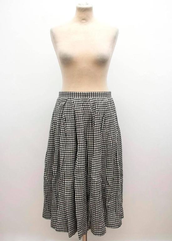 Comme des Garçons Check Skirt and Coat 2