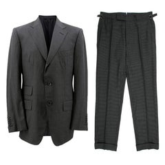 Tom Ford Men's Grey Stripe Suit