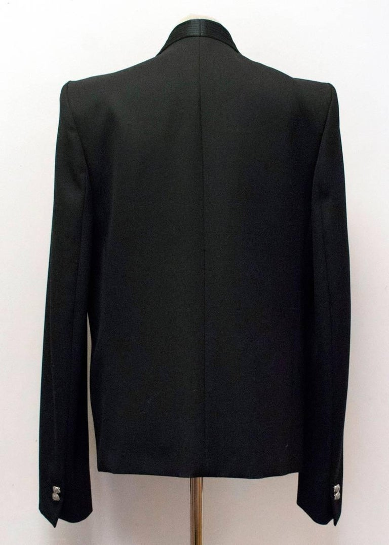 Women's Balmain Black Blazer Jacket For Sale