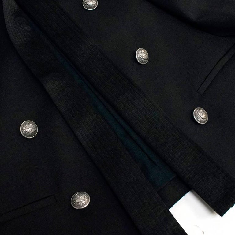Balmain Black Blazer Jacket For Sale 3