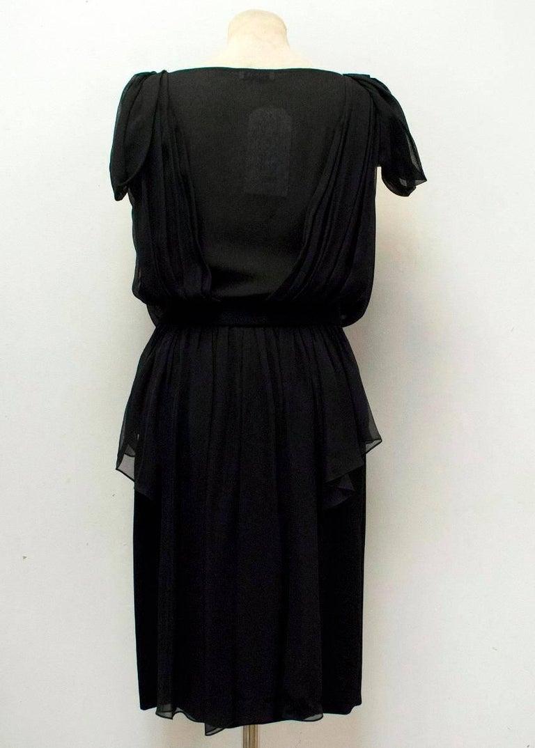 Women's Vionnet Black Dress  For Sale