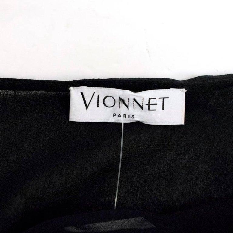 Vionnet Black Dress  For Sale 2