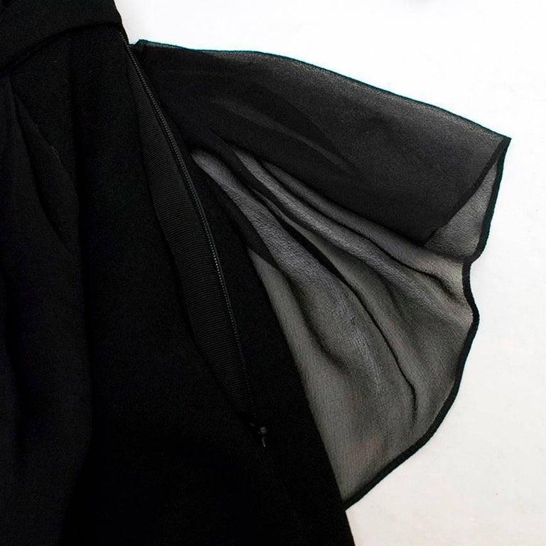 Vionnet Black Dress  For Sale 3