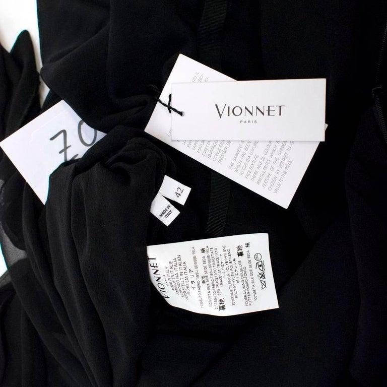 Vionnet Black Dress  For Sale 4