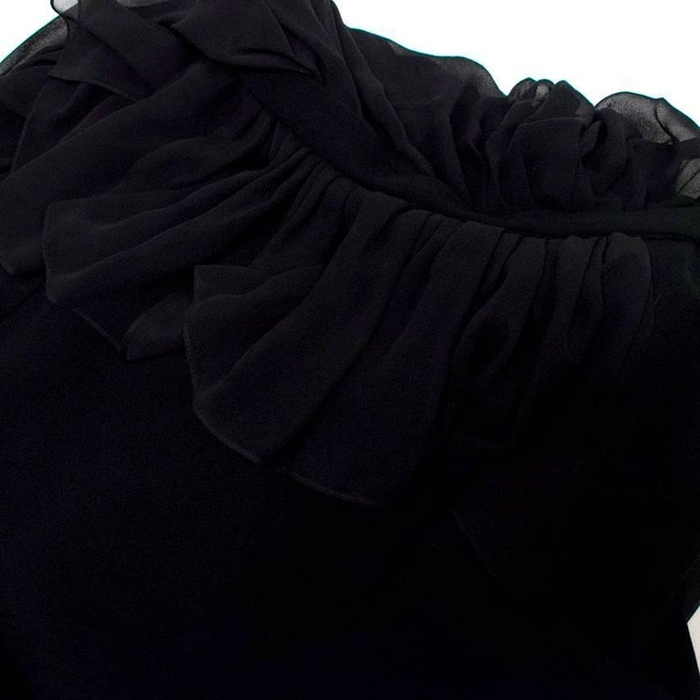Vionnet Black Dress  For Sale 5