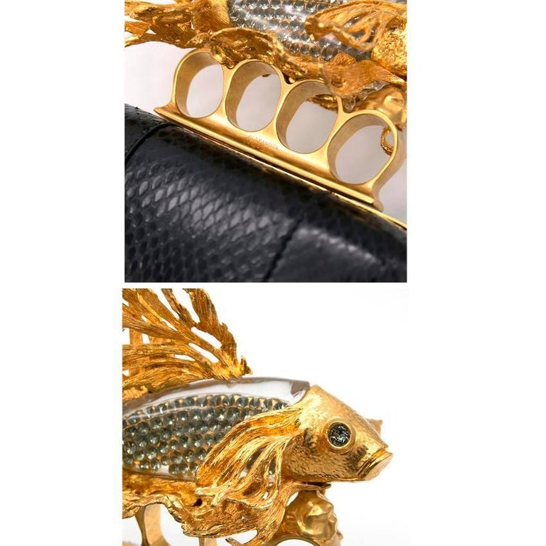 Alexander McQueen Tropical Fish Clutch  For Sale 2