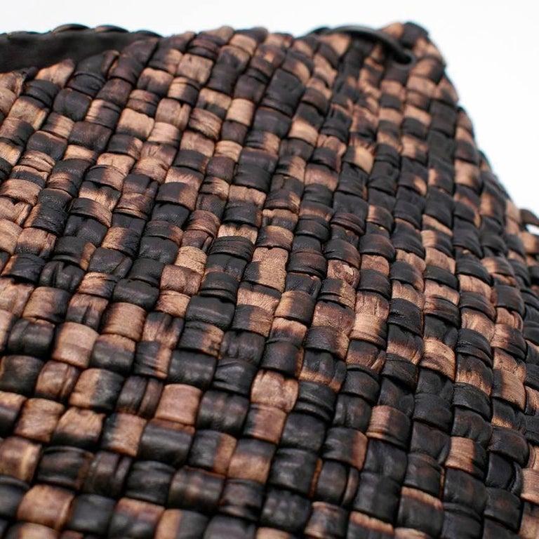 Bottega Veneta Brown Leather Fringe Bag  2
