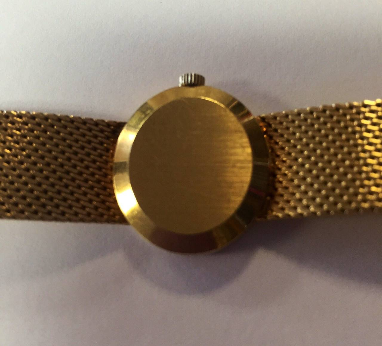 Omega Lady's Yellow Gold De Ville Wristwatch at 1stdibs