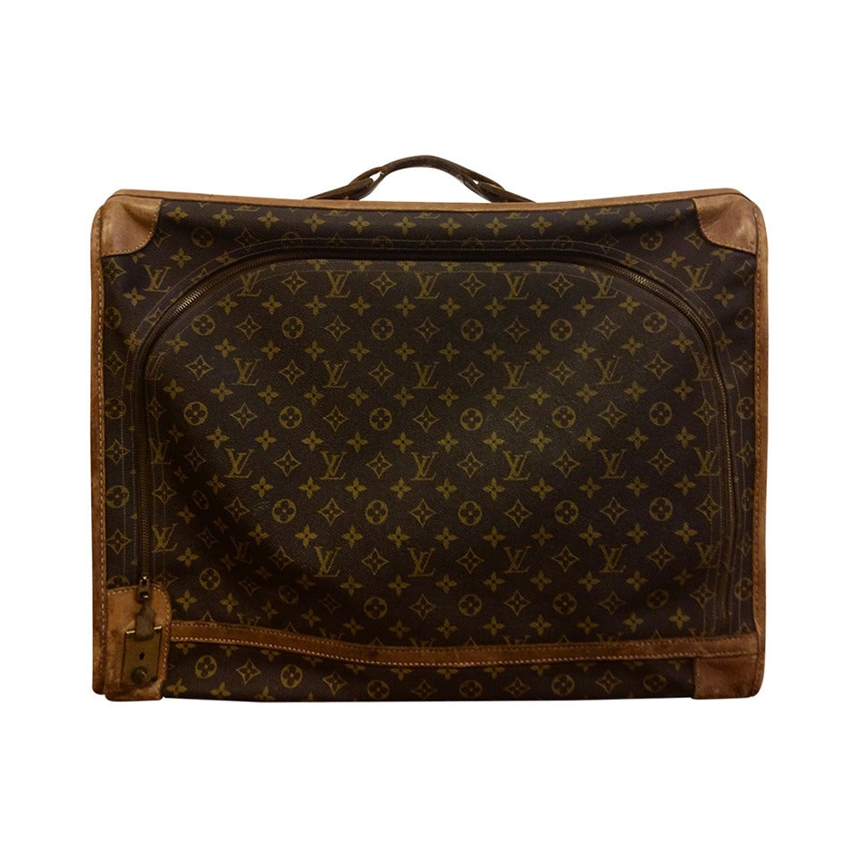 Vintage Louis Vuitton French Company Monogram Luggage