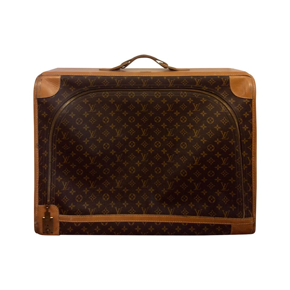 Vintage Louis Vuitton French Company Monogram Luggage ...