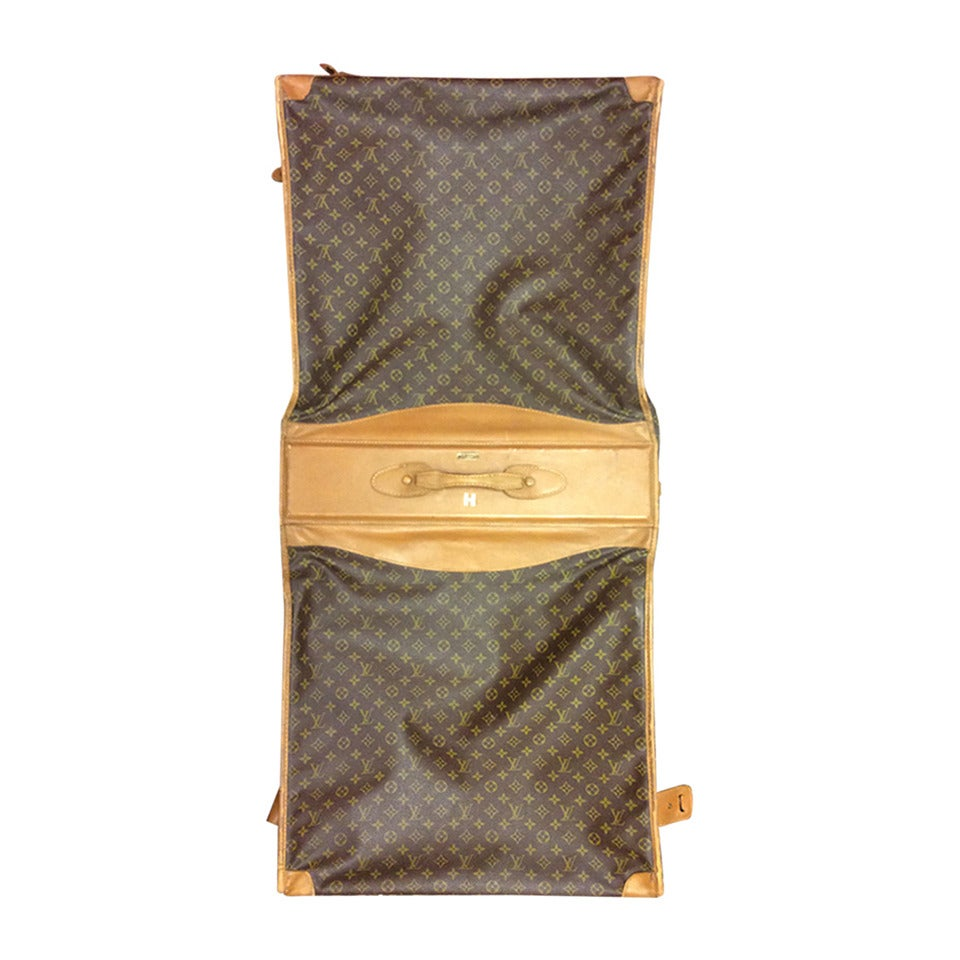 Vintage Louis Vuitton Large Monogram Garment Travel Bag