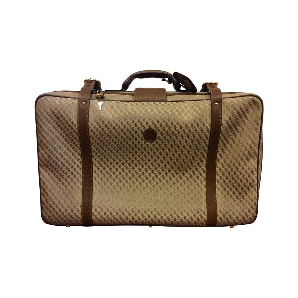 vintage gucci large travel luggage suitcase at 1stdibs