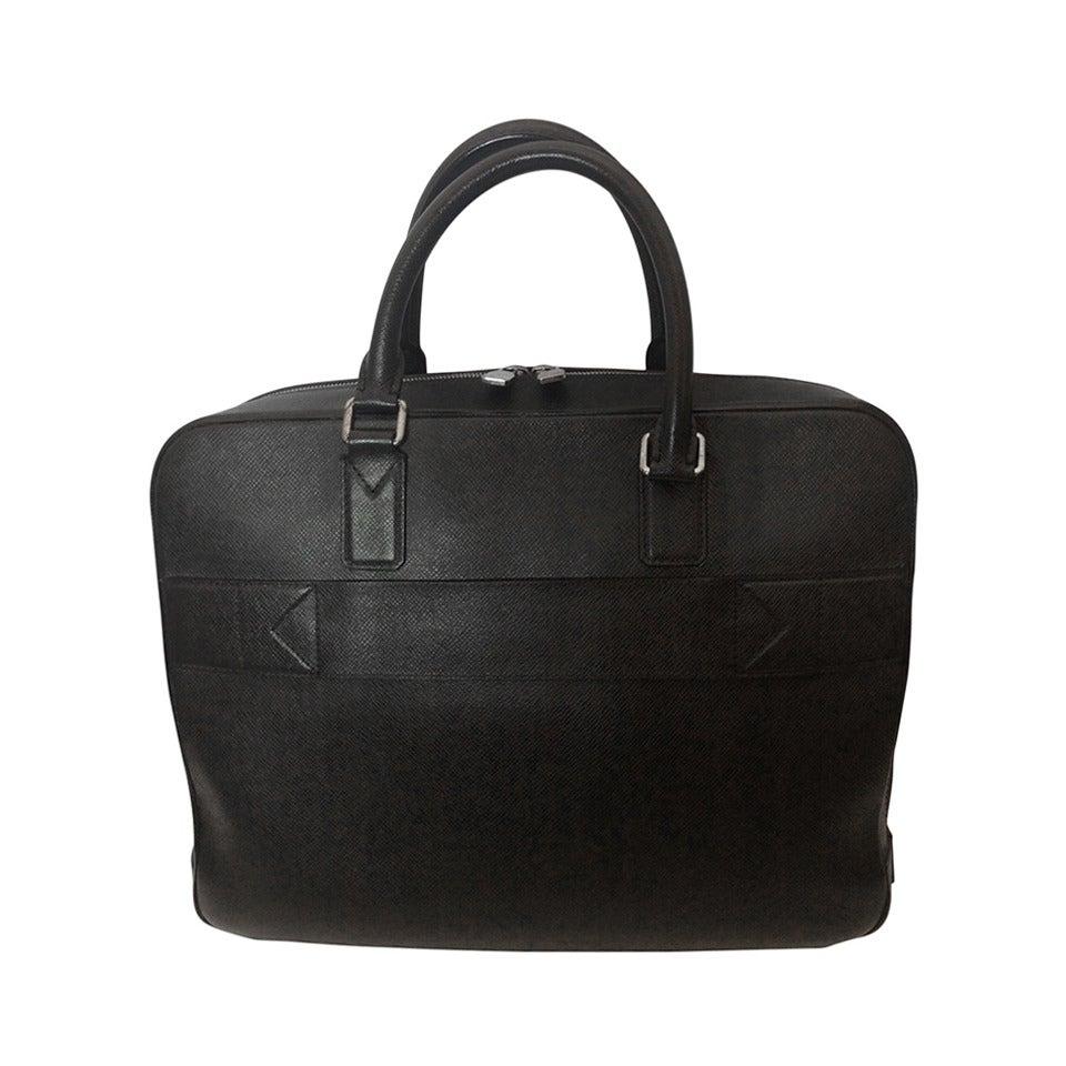 Louis vuitton tiaga leather porte documents business for Porte a porte clothing