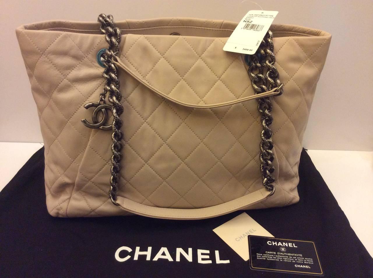 e222edbb9cb466 Chanel Large Zip Shopping Bag 30cm | Stanford Center for Opportunity ...