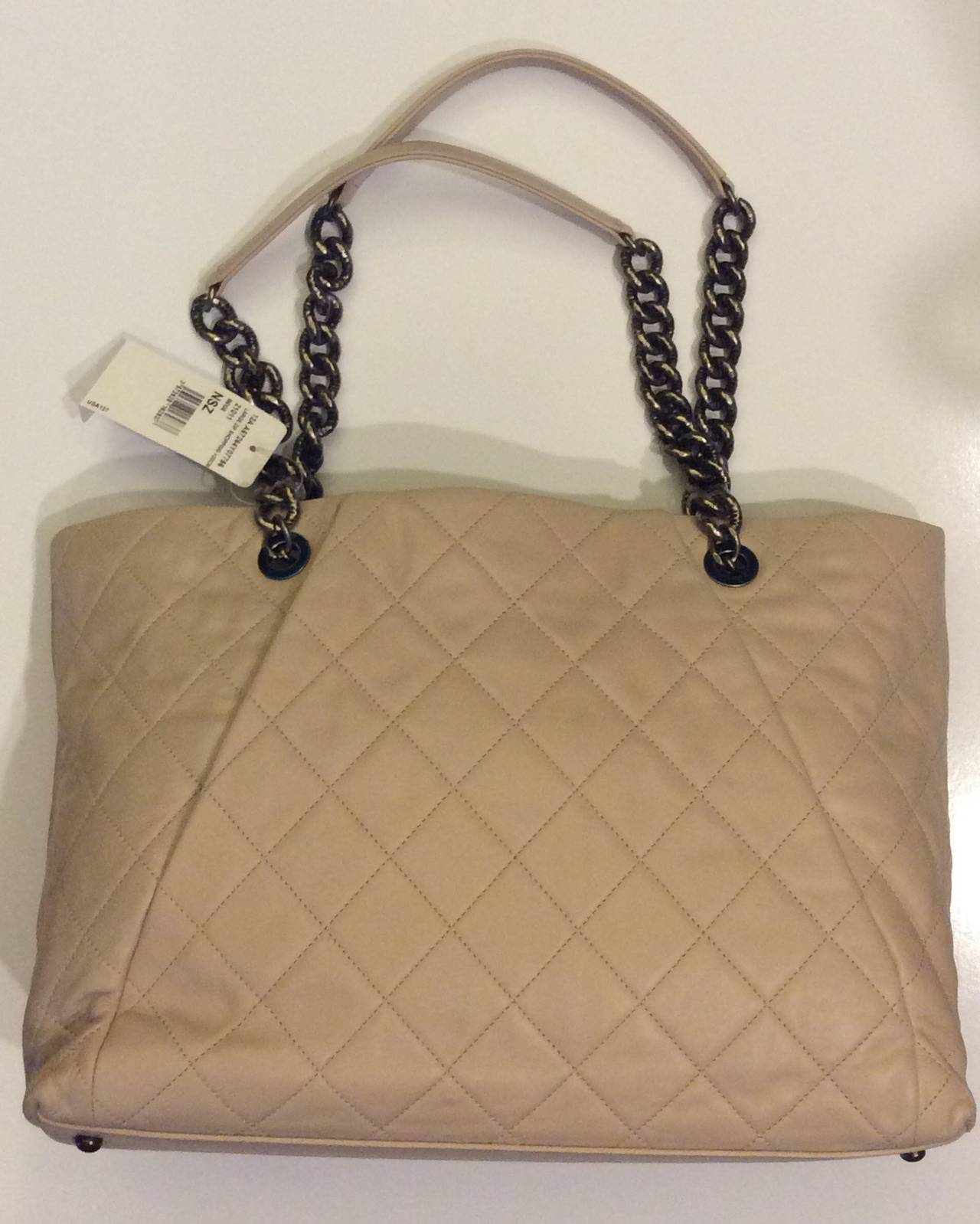 f51f4697502d Chanel Large Zip Shopping Bag 30cm | Stanford Center for Opportunity ...