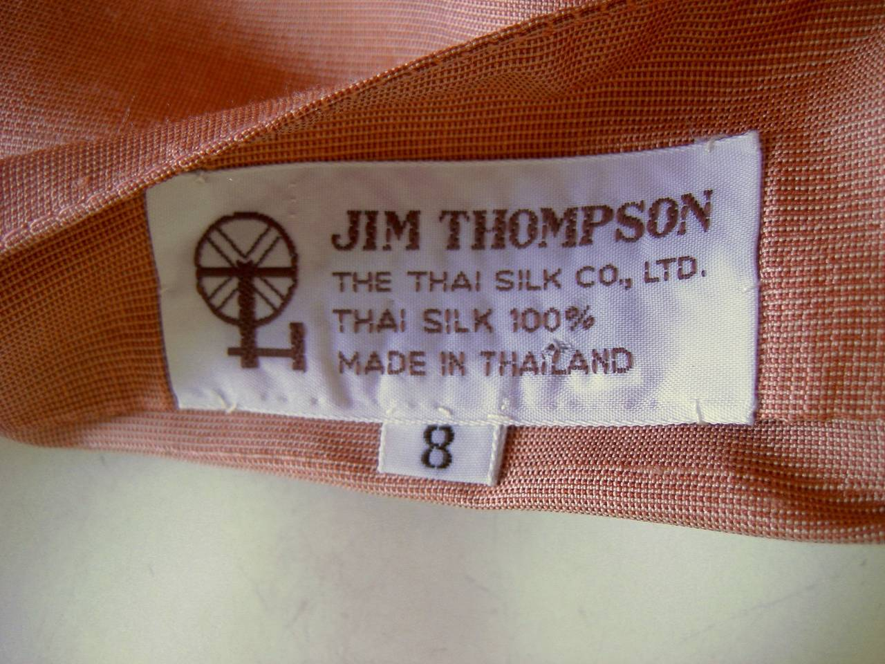 1960s jim thompson thai silk peasant ensemble at 1stdibs for Thai silk jim thompson