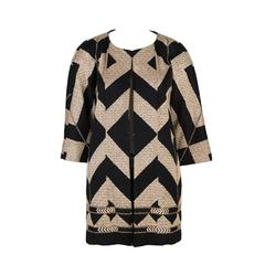 Dries Van Noten Graphic Jaquard Coat