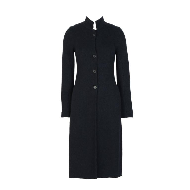 Ann Demeulemester Side Split Knit Tunic Coat