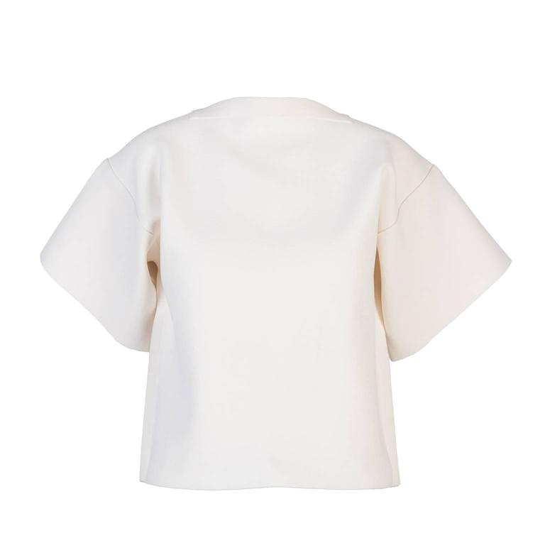 Maison Martin Margiela Heavy Knit Structured Top