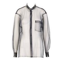 Comme Des Garçons Mesh Shirt