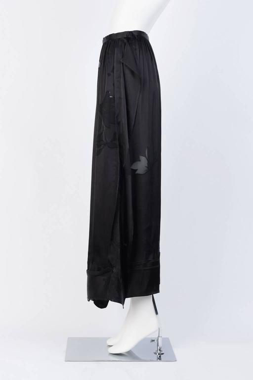 2016SS Yohji Yamamoto Silk Wrap Skirt 3