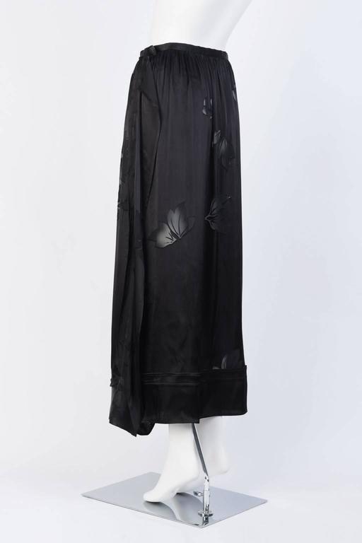2016SS Yohji Yamamoto Silk Wrap Skirt 4