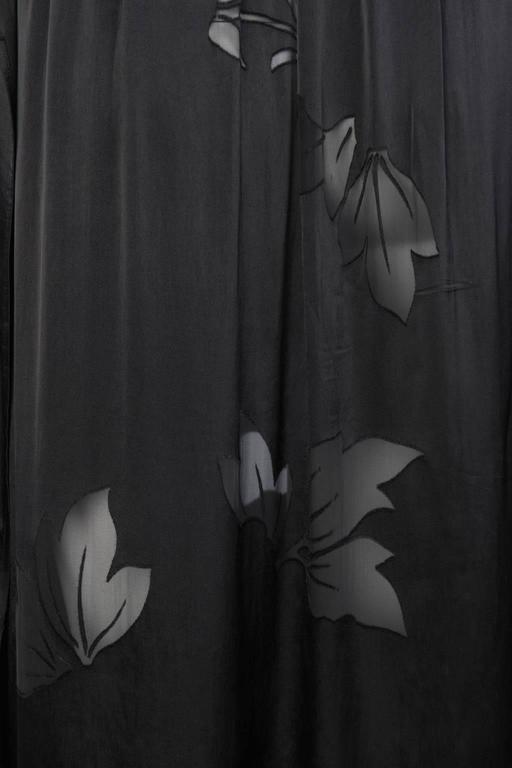 2016SS Yohji Yamamoto Silk Wrap Skirt 6