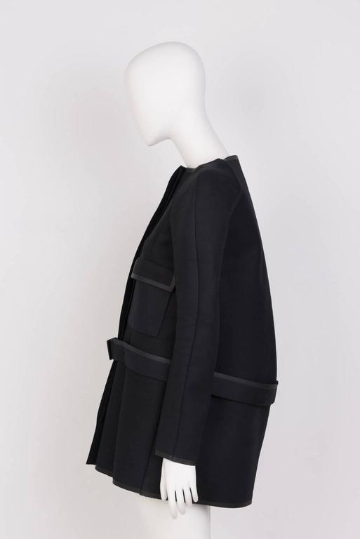 Black NICOLAS GHESQUIERE For BALENCIAGA Coat For Sale