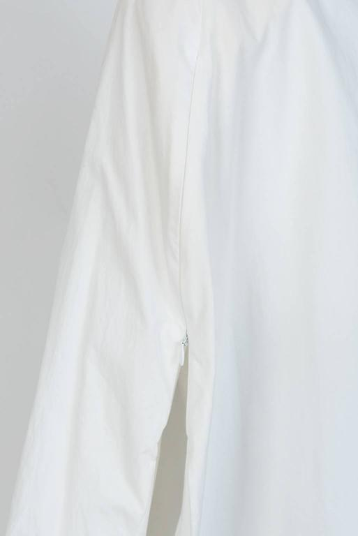MAISON MARTIN MARGIELA White Cotton Blouse For Sale 1