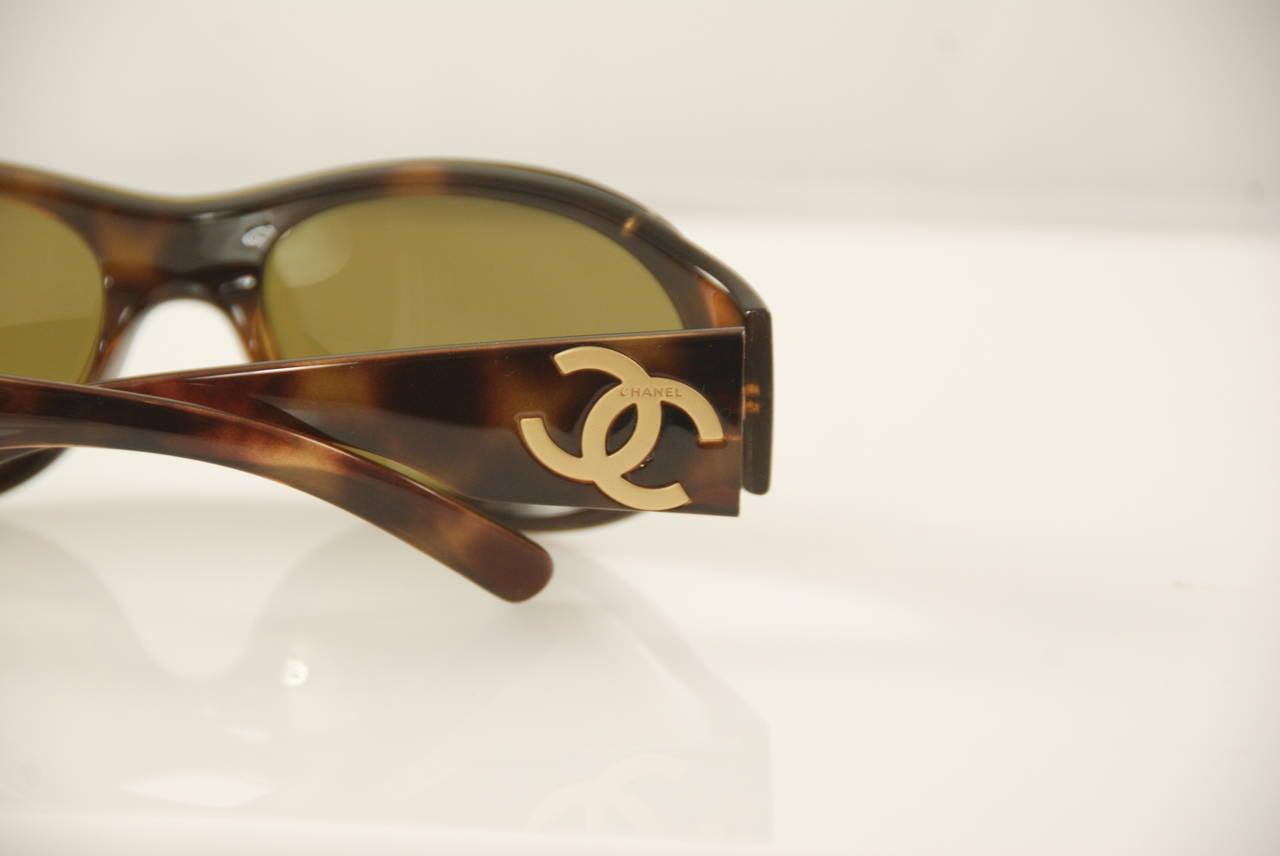 2d7ab01b98 Chanel Tortoise Shell Eyeglasses