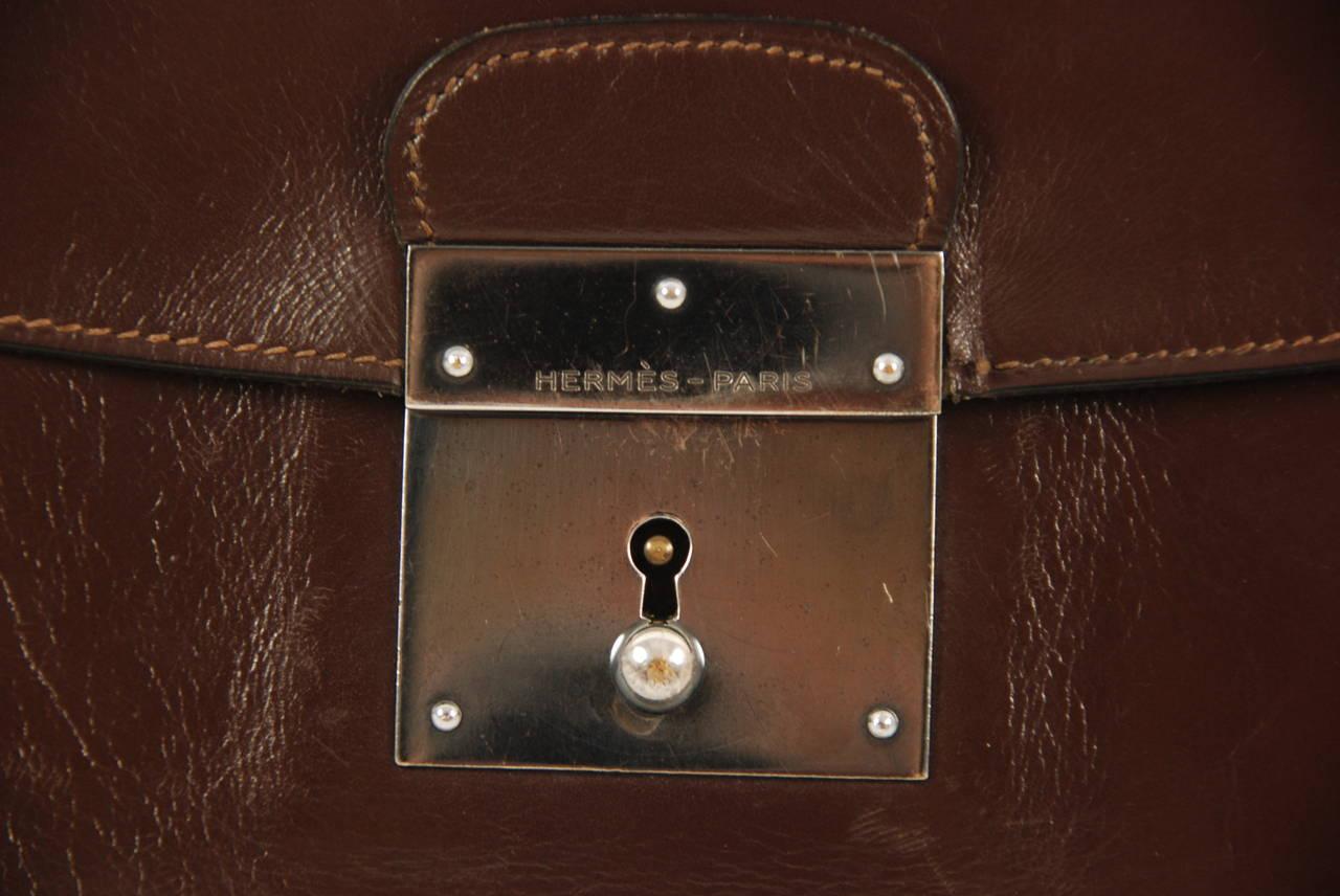 hermes leather portfolio