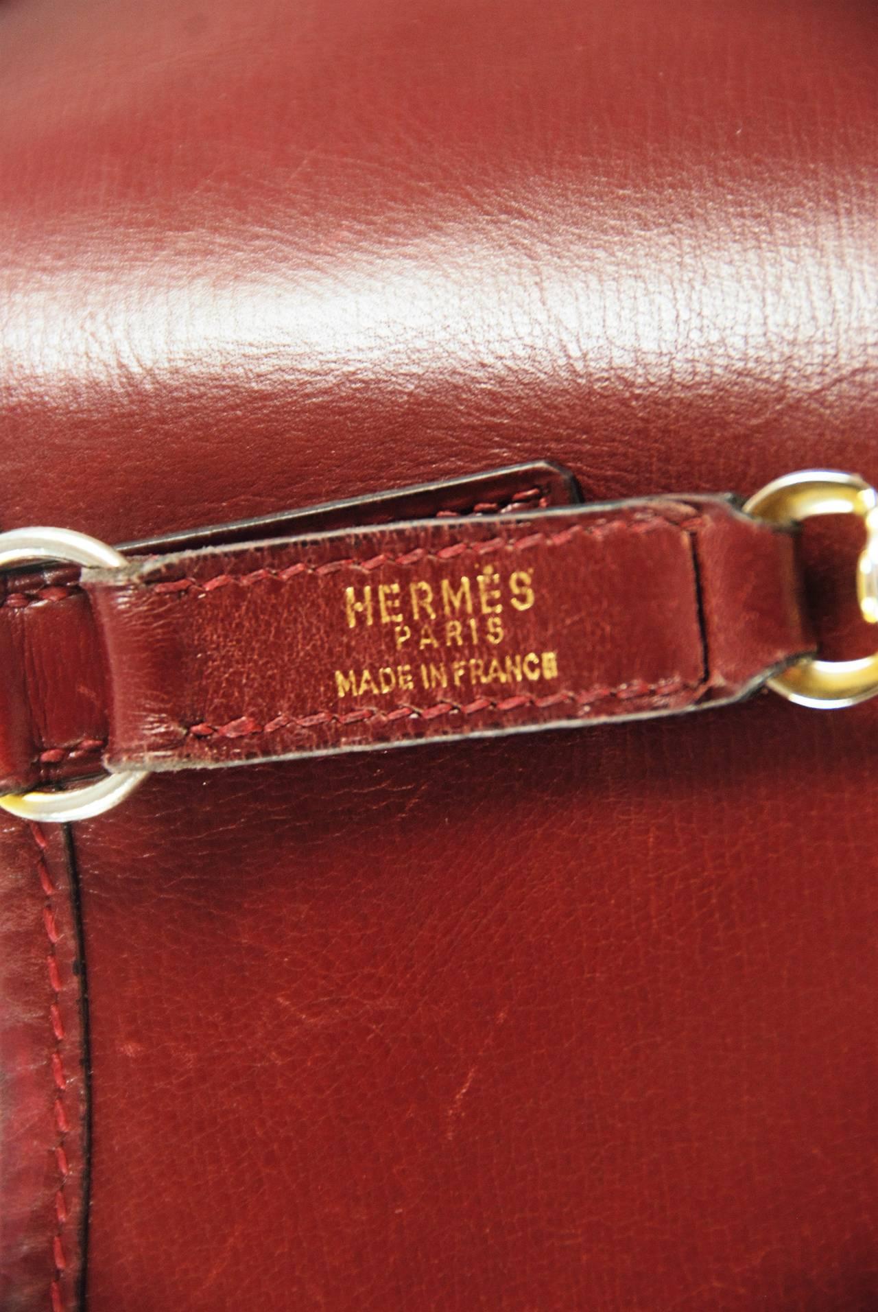 vintage hermes trim 30 bag