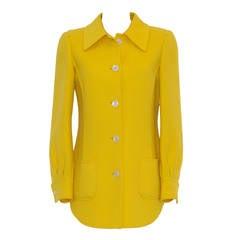 Valentino Wool Shirt Jacket