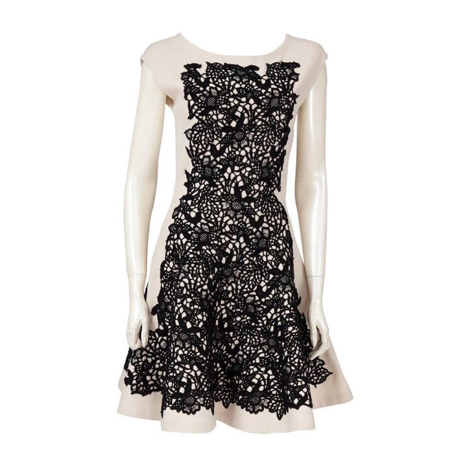 Christian dior wool and cashmere sleeveless skater dress for Dior couture dress price