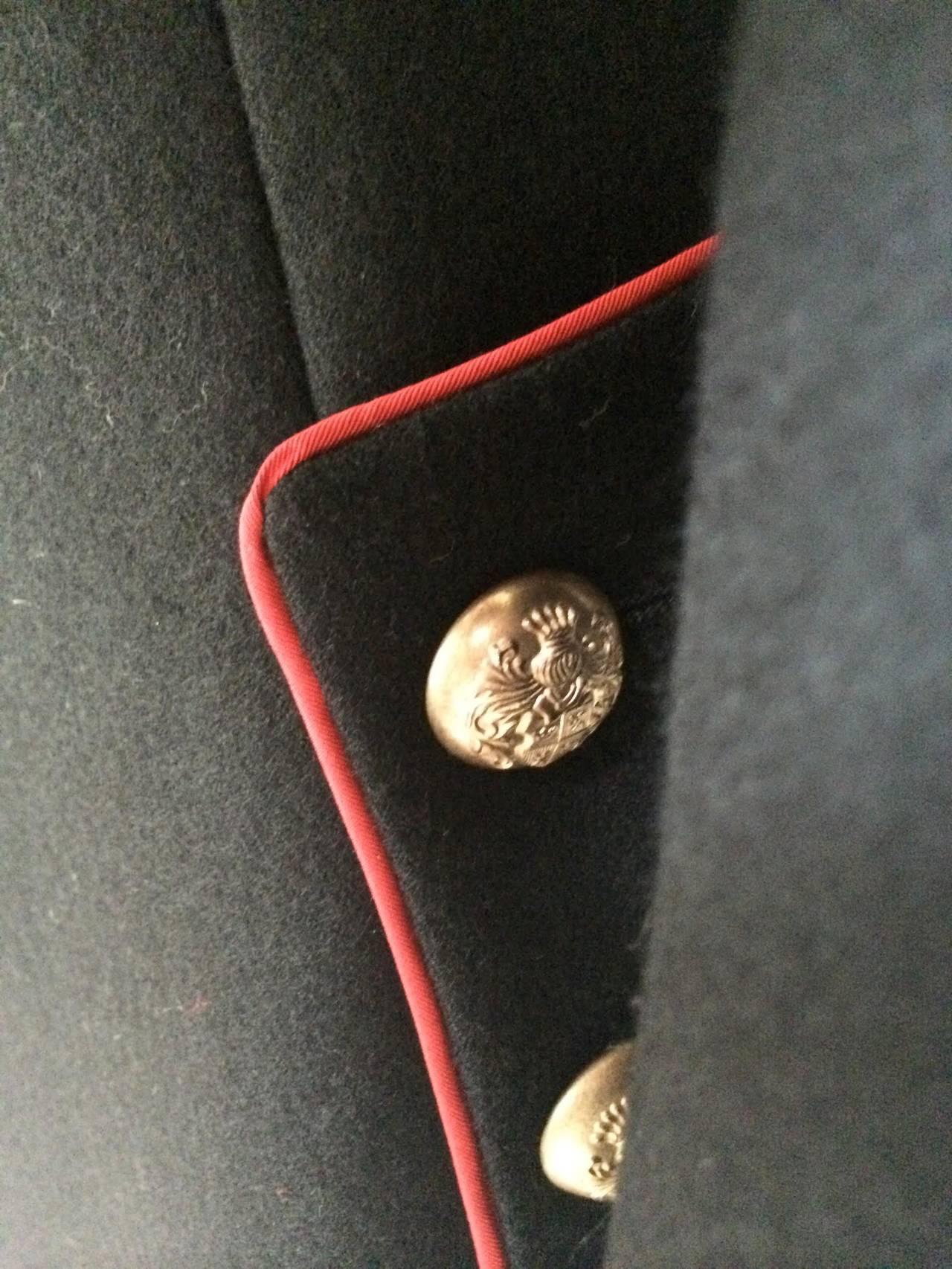 2011 Alexander McQueen Wool Jacket For Sale 2