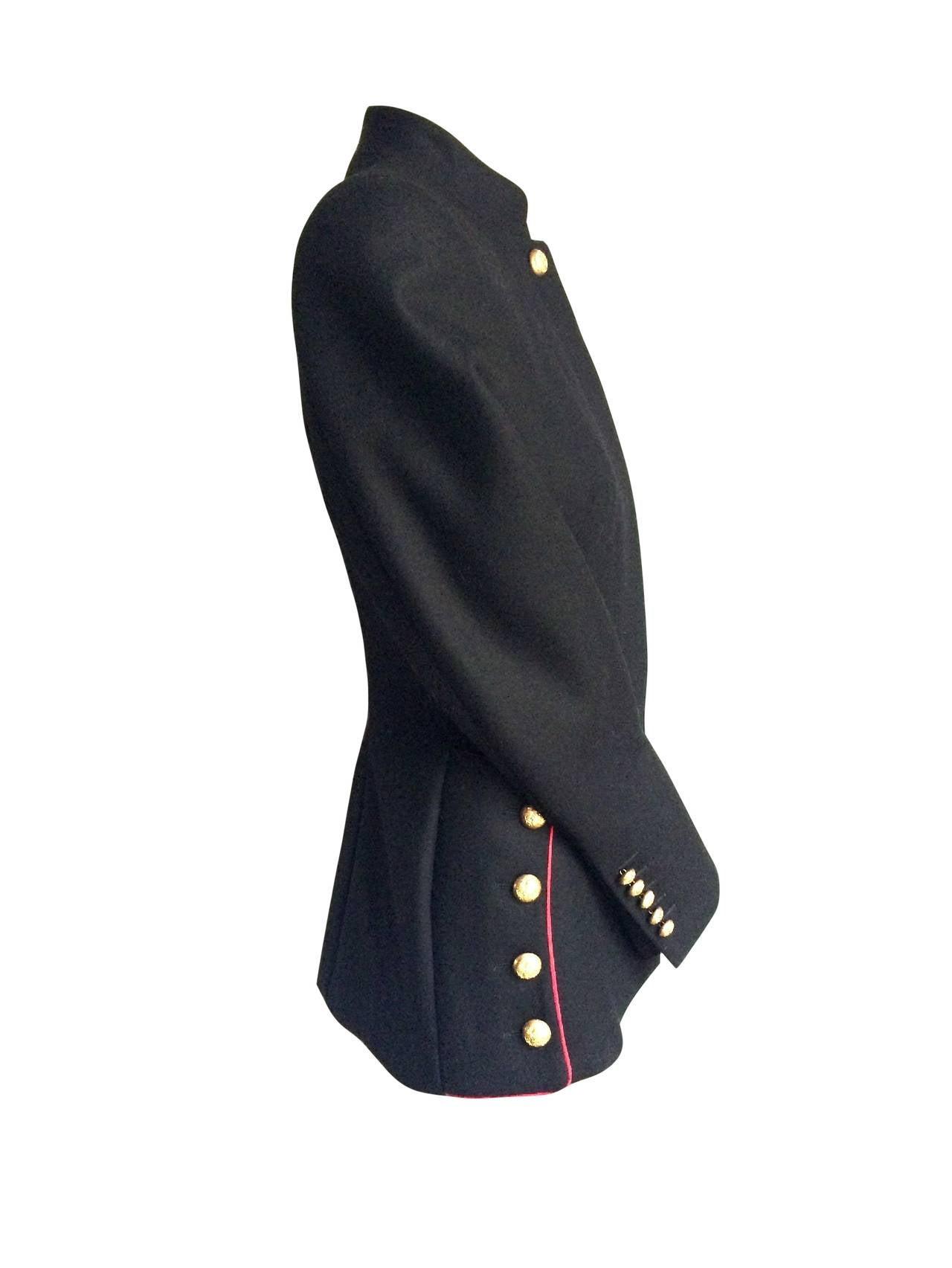 Women's 2011 Alexander McQueen Wool Jacket For Sale