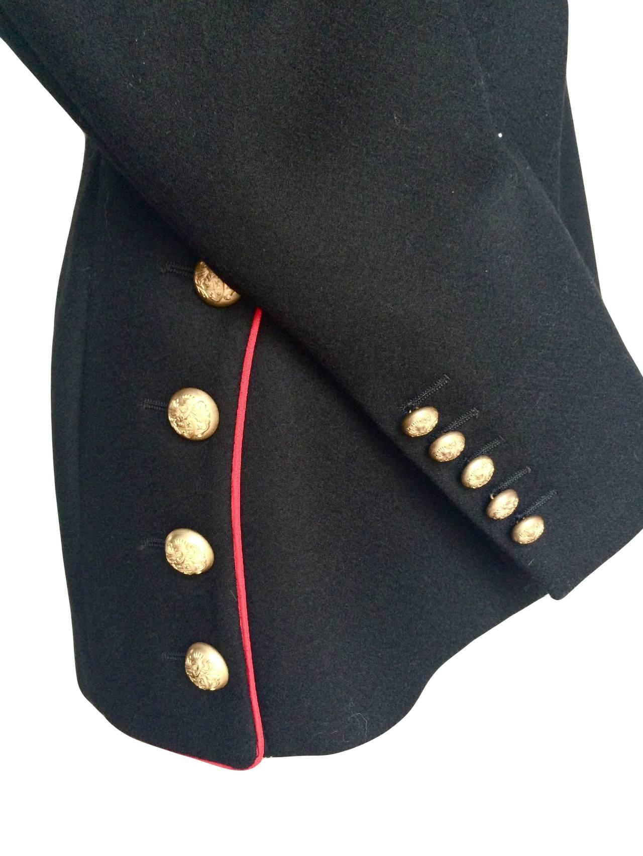 2011 Alexander McQueen Wool Jacket For Sale 1
