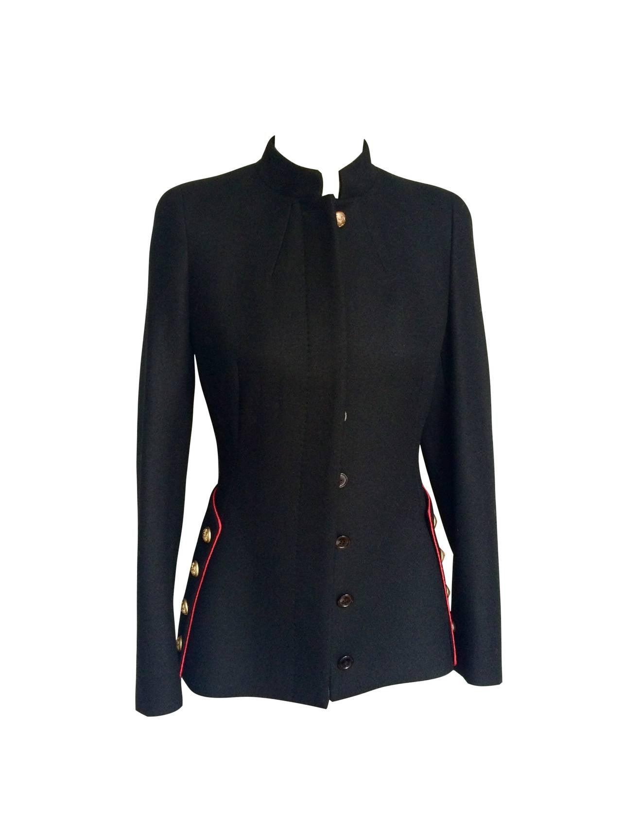 2011 Alexander McQueen Wool Jacket 2