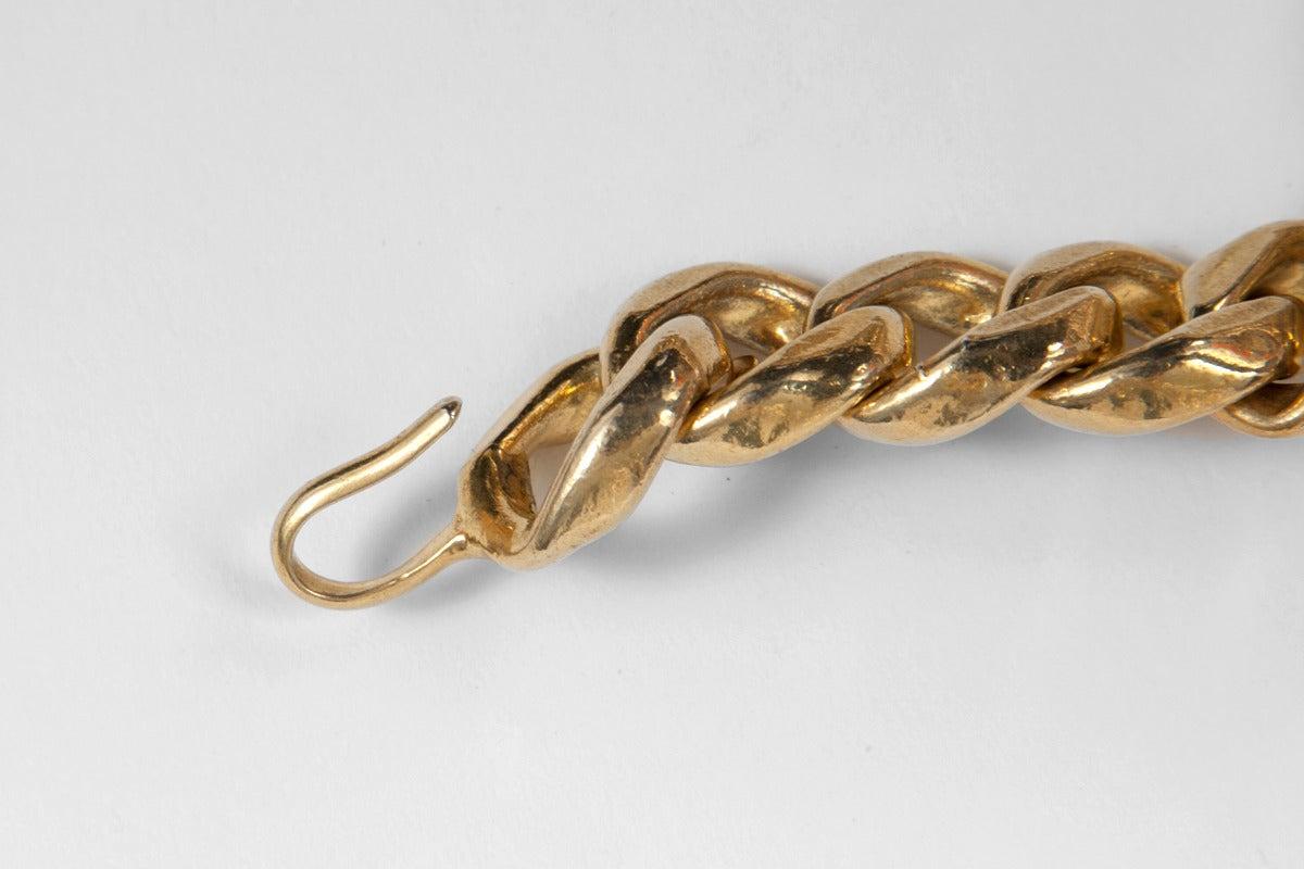Chanel Goldtone Link Chain Belt 3
