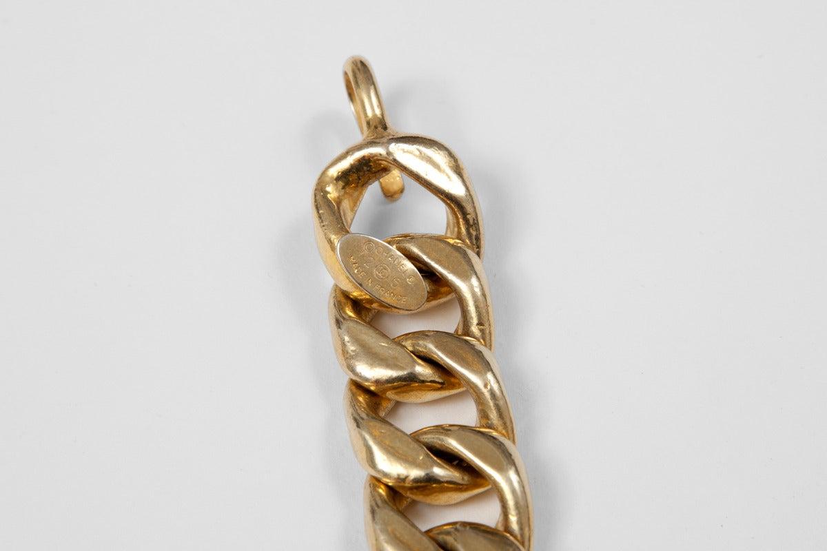 Chanel Goldtone Link Chain Belt 4