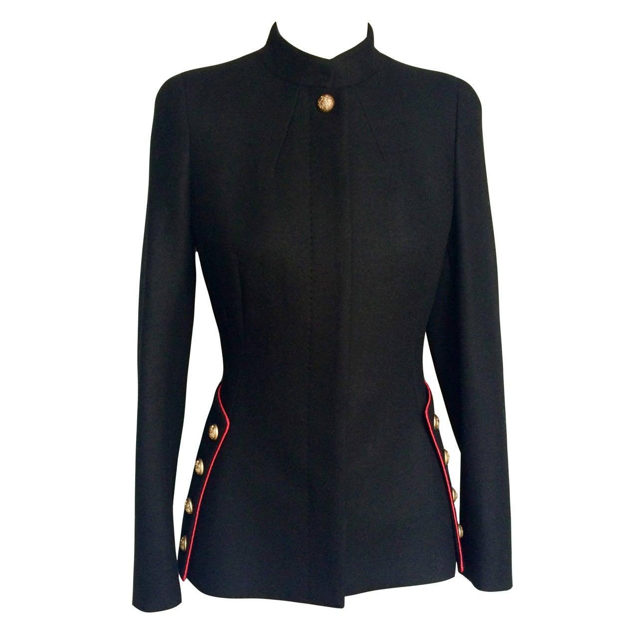 2011 Alexander McQueen Wool Jacket 1