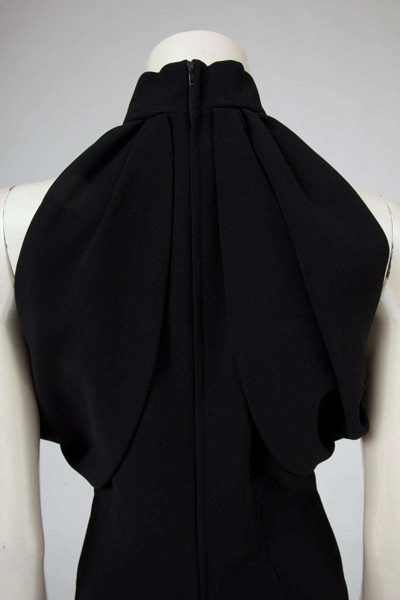 Thierry Mugler Silk Crepe Jumpsuit For Sale 3