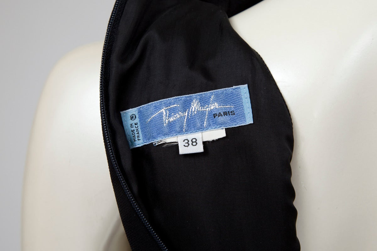 Thierry Mugler Silk Crepe Jumpsuit For Sale 4